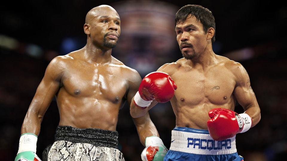 Fight of the Century.  Floyd Mayweather v Manny Pacquiao