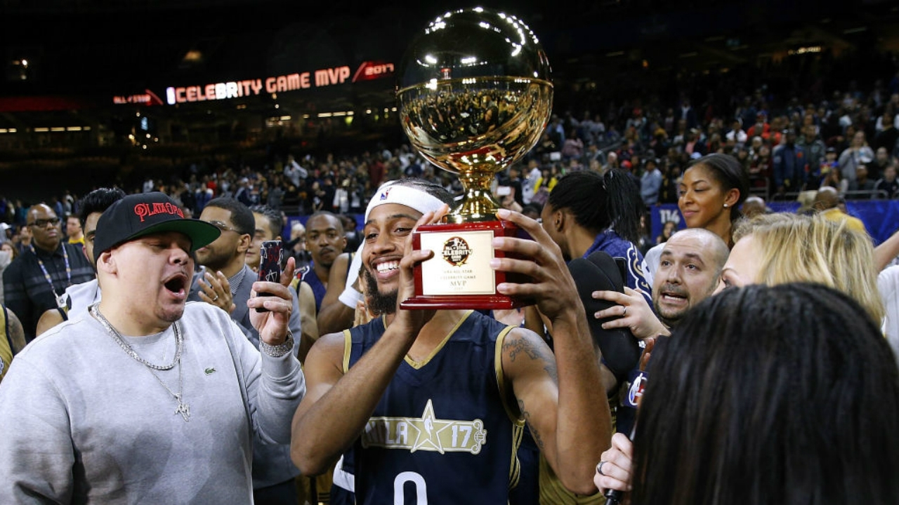 Famous Los Wins MVP For 2019 NBA Celebrity All-Star Game