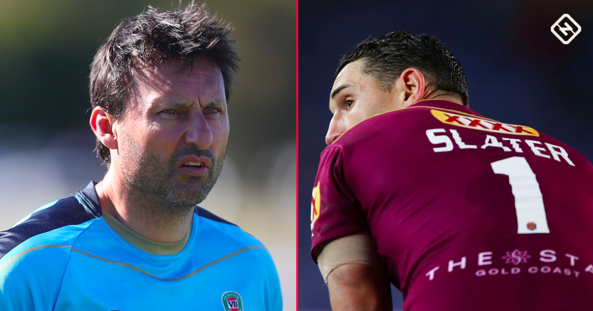 Is this Slater's last State of Origin?