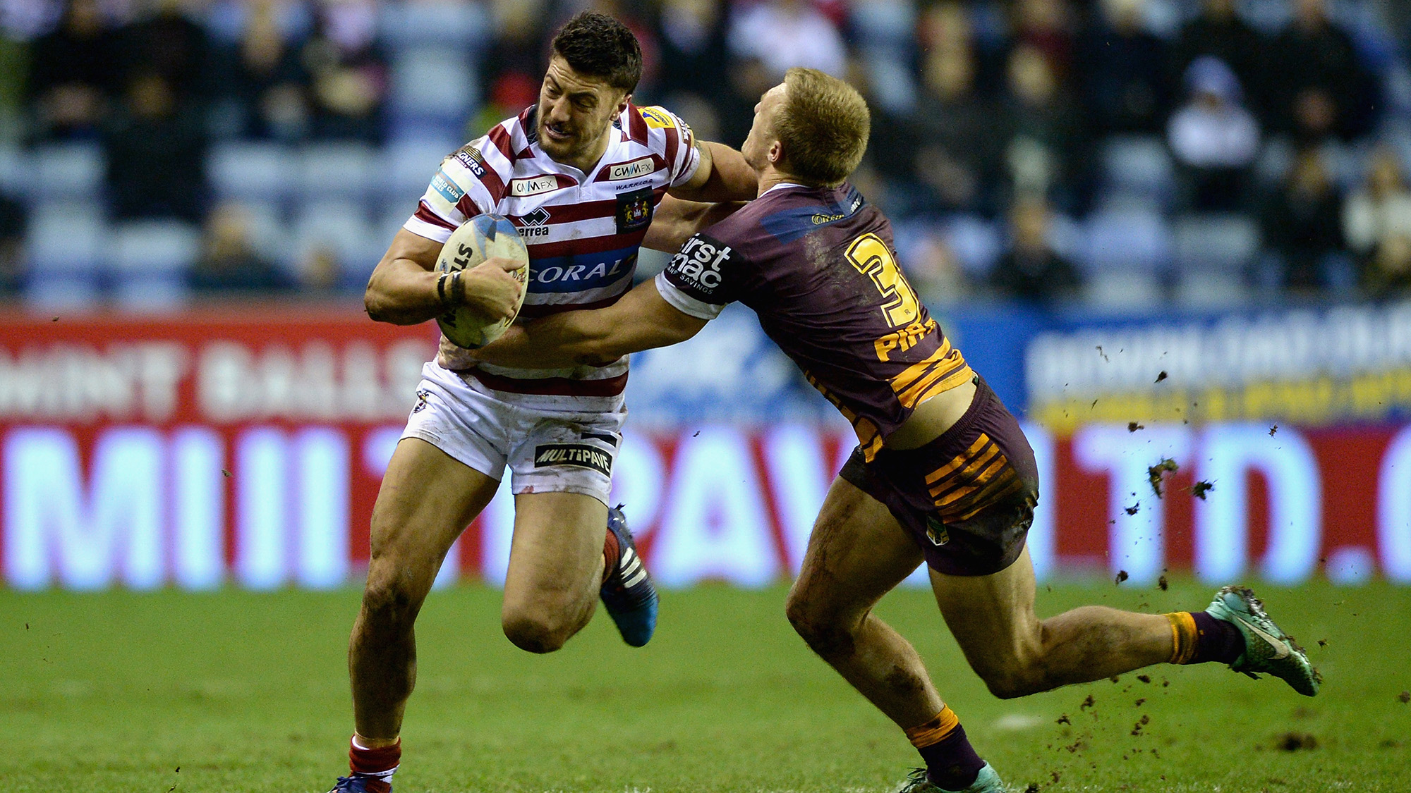 Warriors sign former Wigan Warriors centre Anthony Gelling