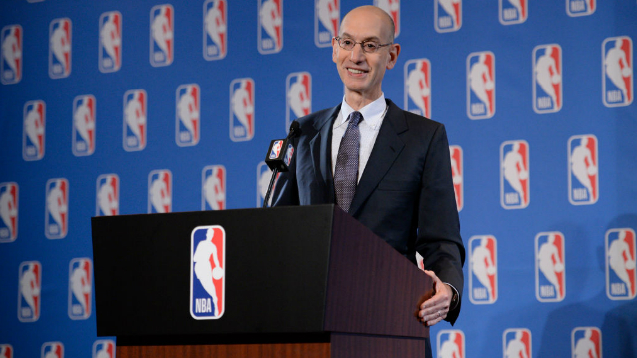 Adam Silver meets with college commission over one-and-done rule