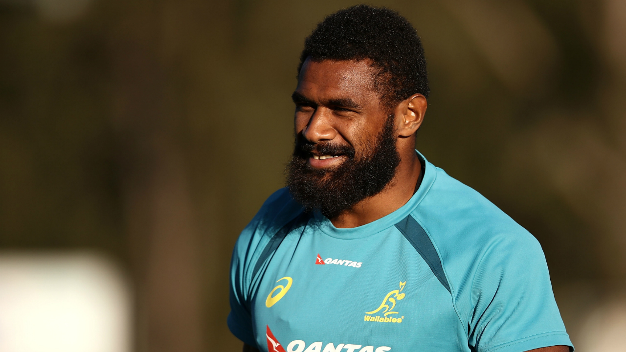 Rugby League convert Marika Koroibete named for Wallabies