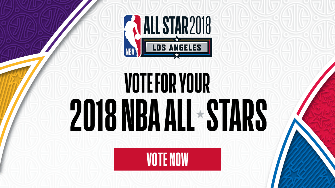 NBA All-Star voting 2018 is now LIVE on NBA App and NBA.com | NBA | Sporting News