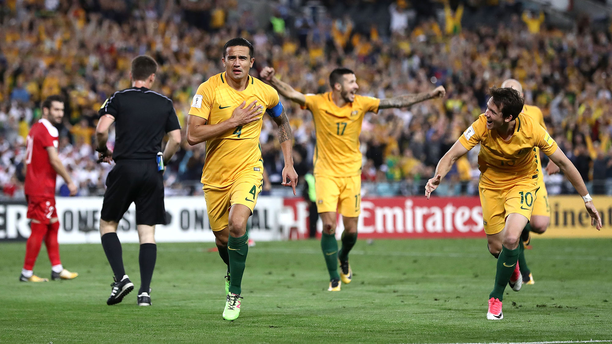 Federation Internationale de Football Association probing Cahill for 'sponsored' celebration