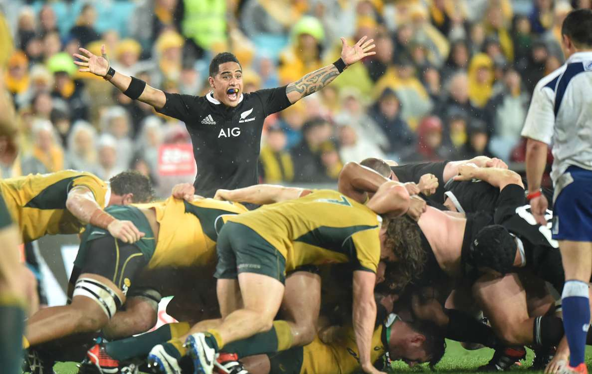 Wallabies' scrum not