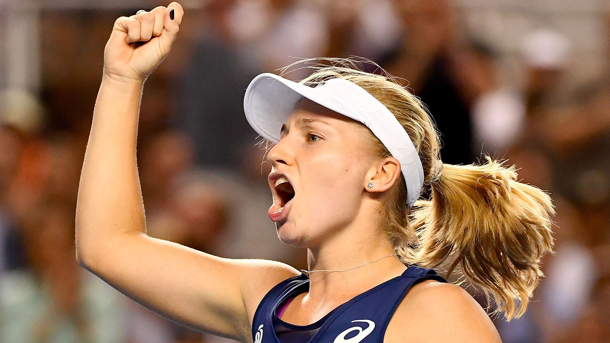 Gavrilova ensures Australia through to second week of the Open