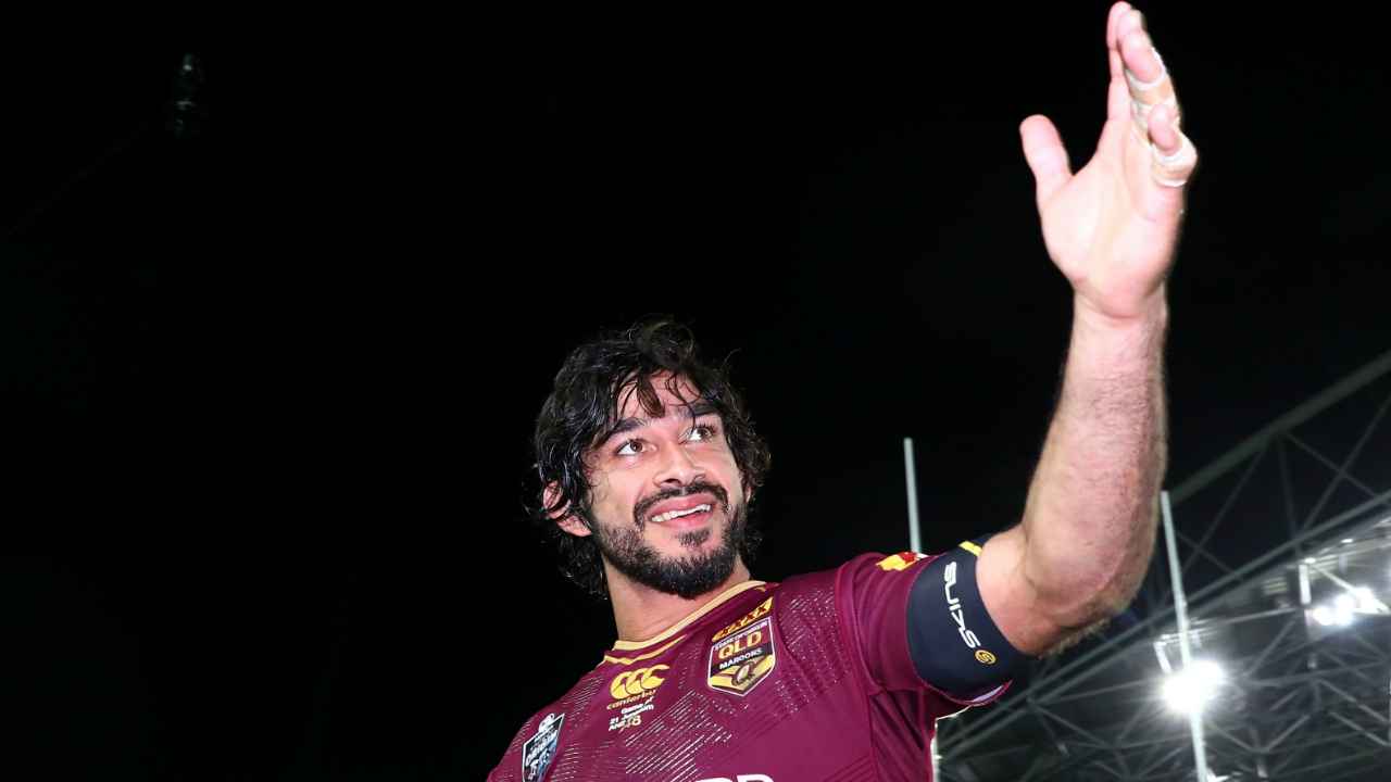 Smith lauds 'unbelievable' Maroons match-winner Thurston