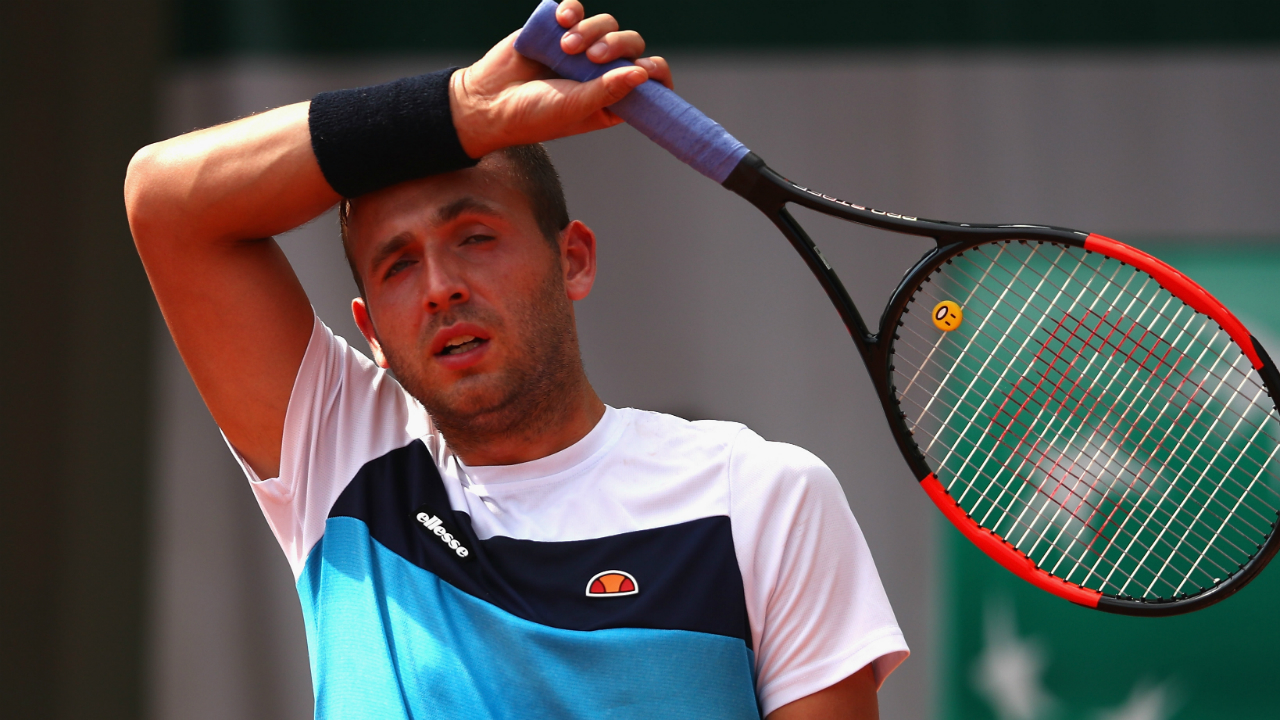 Dan Evans reveals he failed drugs test for cocaine in April