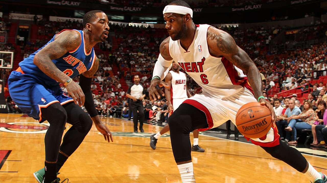 LeBron scores 38, Heat top Knicks | Sportal Australia