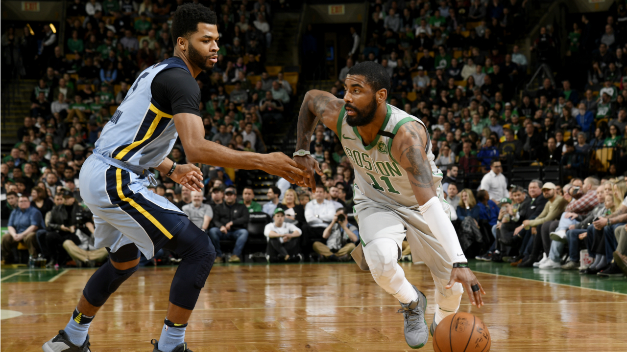 Irving shines as Celtics Beat Grizzlies 109-98