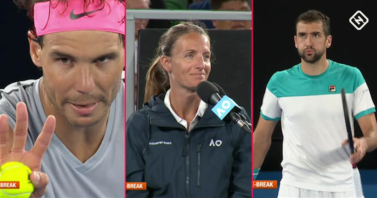 Australian Open: Marin Cilic joins elite group at final