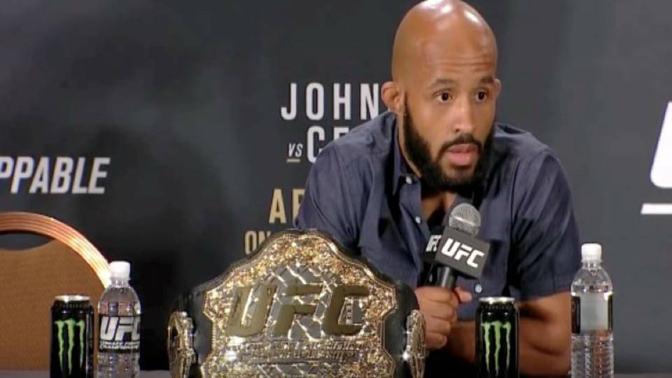 # Mighty Mouse Demetrious Johnson
