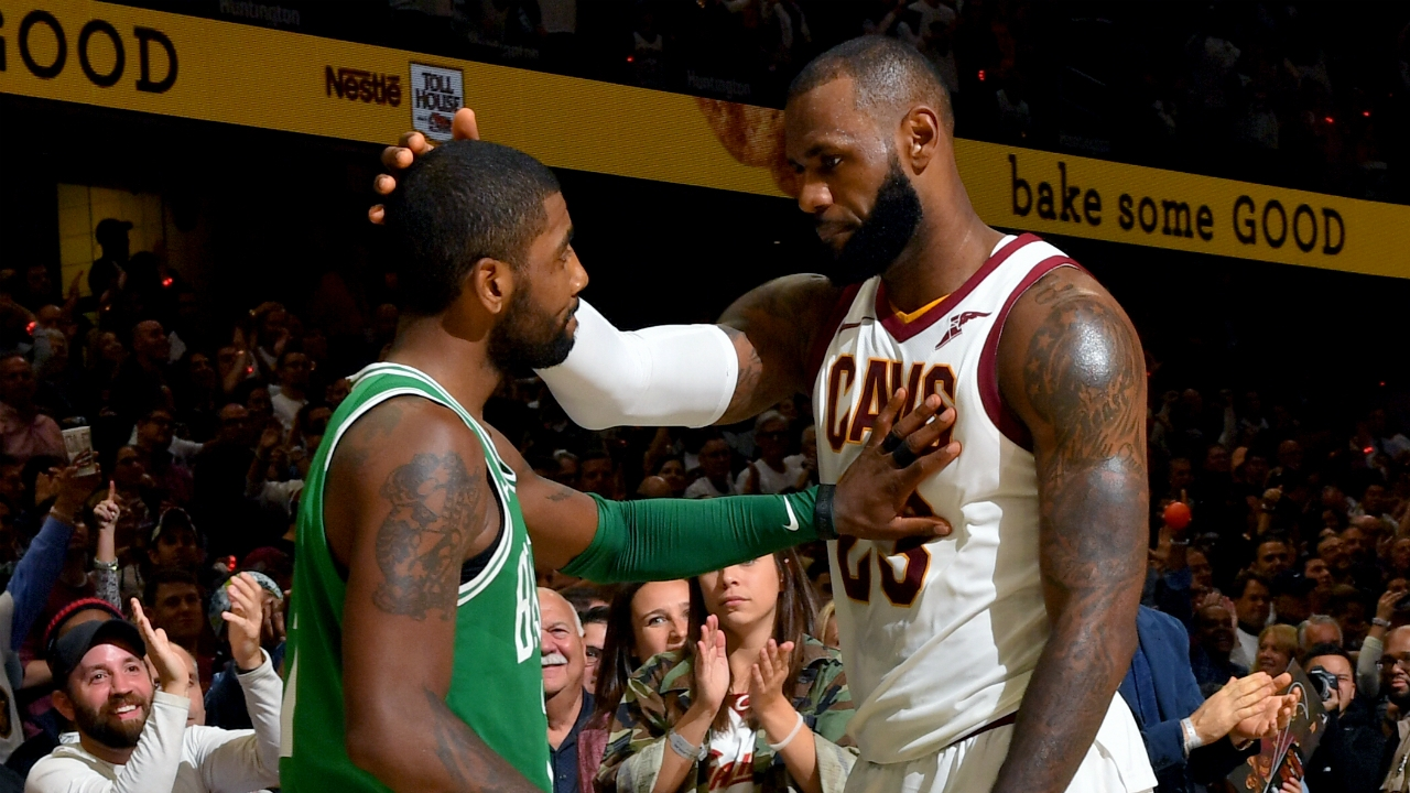 VIDEO: LeBron and Kyrie's complicated relationship | NBA | Sporting News