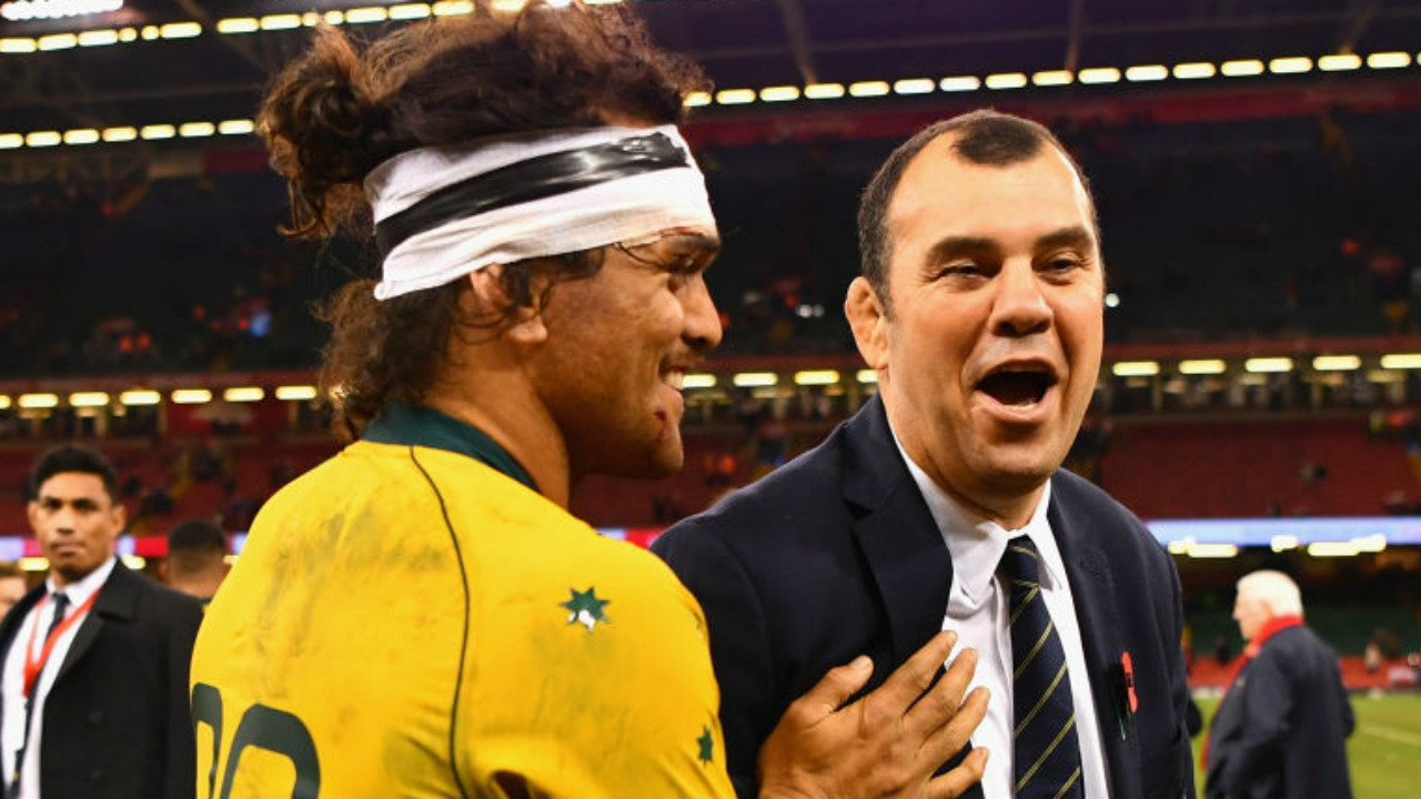 Michael Cheika reaches out to Hunt, Cooper