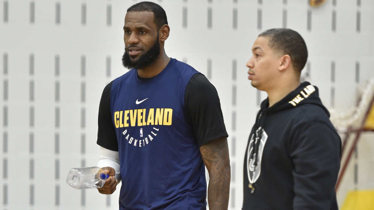 Tyronn Lue steps back from coaching Cavs to focus on health issues