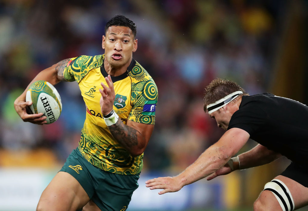 Australia opt to rest fullback Israel Folau for end-of-year Tests