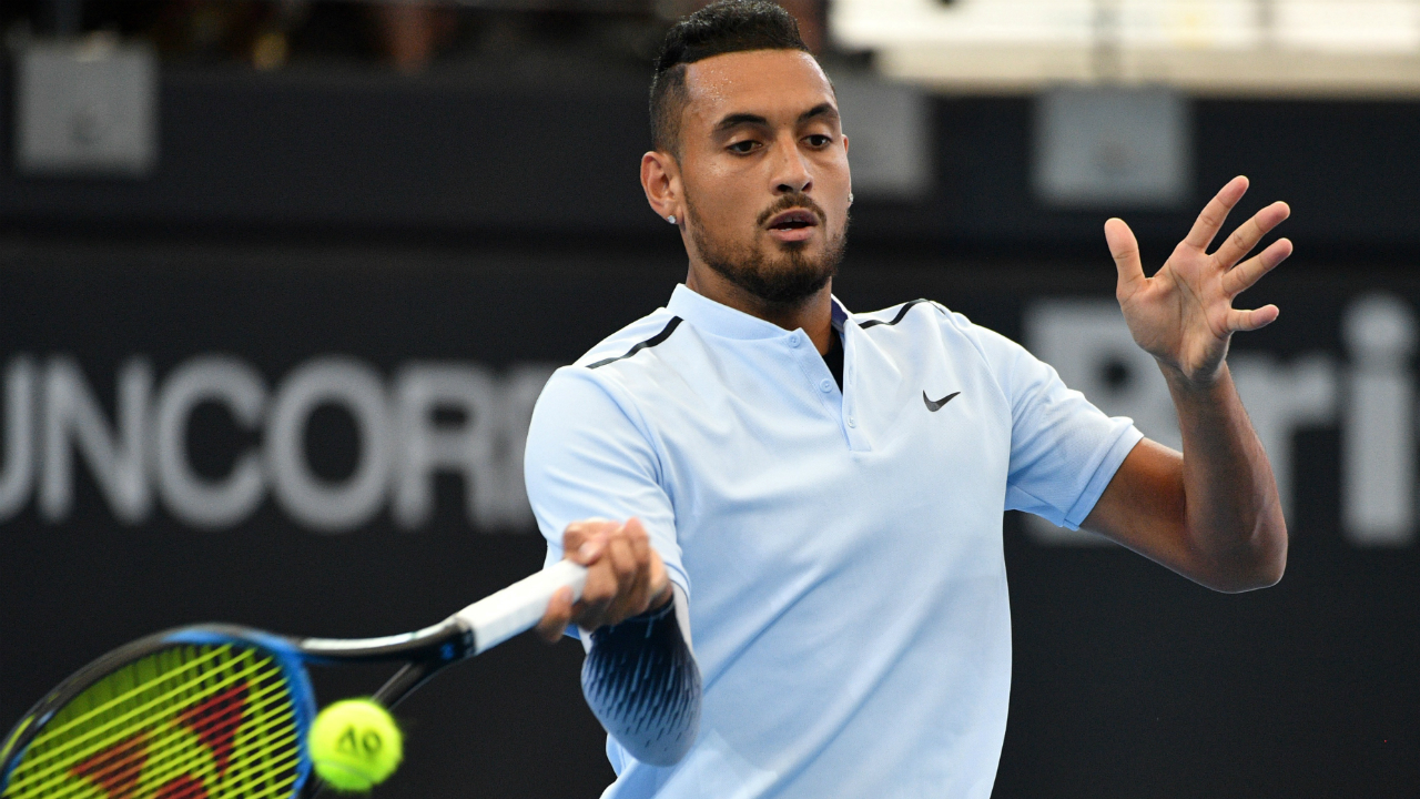 Kyrgios upsets Dimitrov, advances to Brisbane final