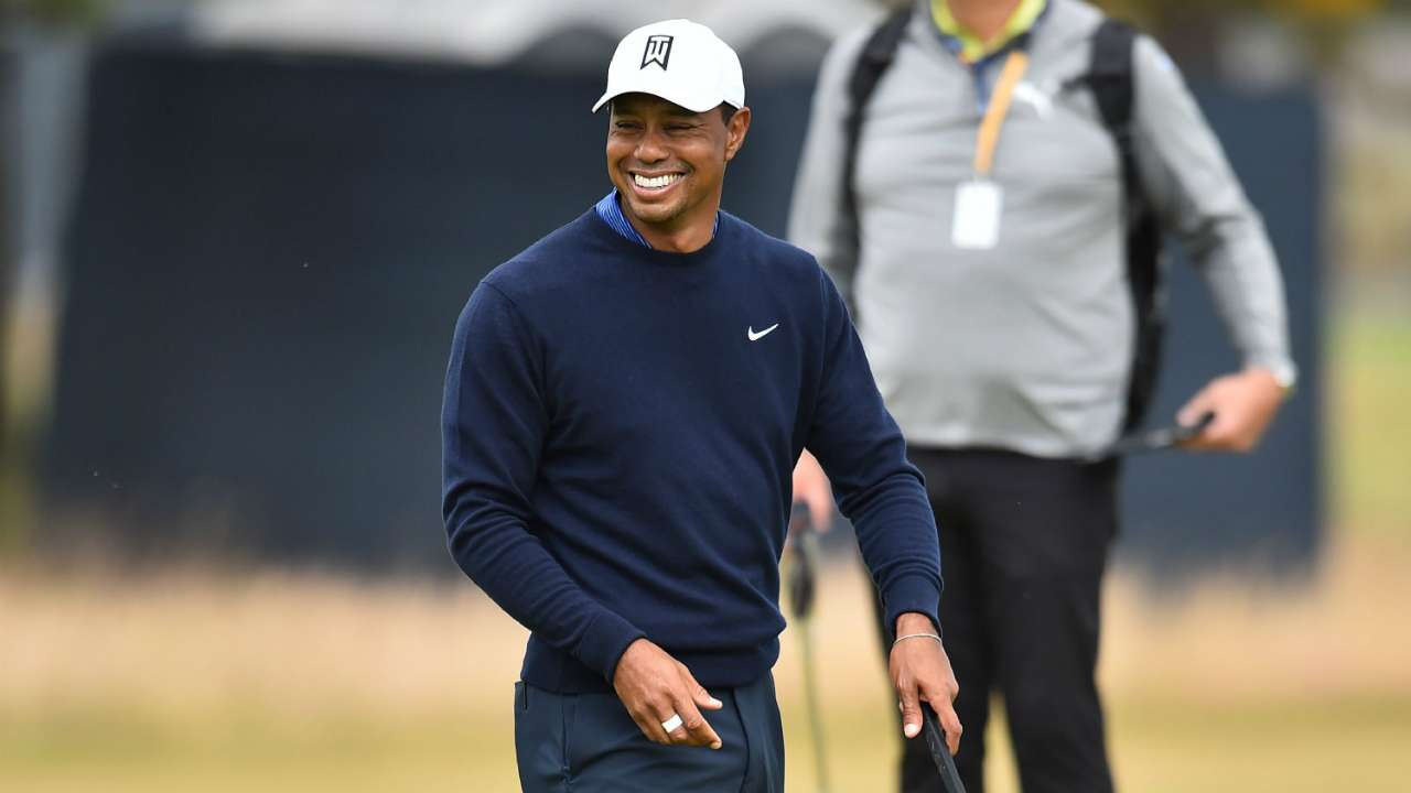 british open 2018  tiger woods never thought he u0026 39 d play
