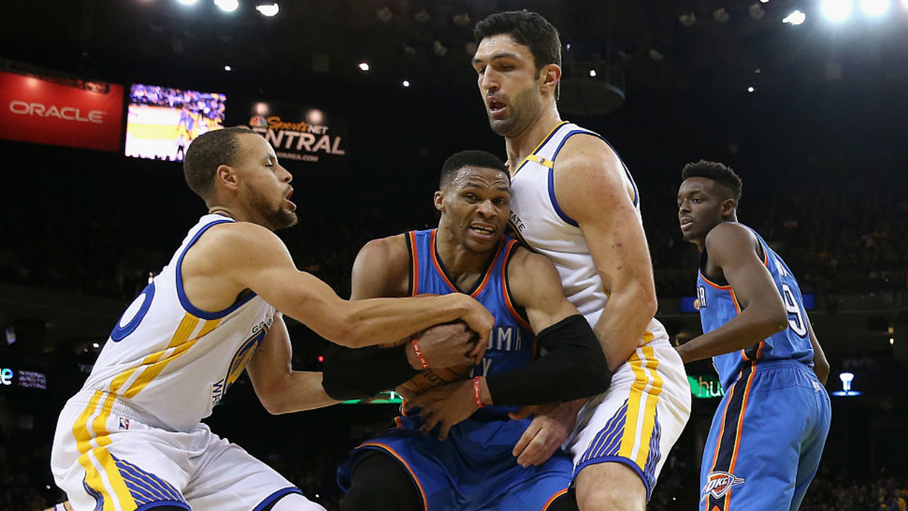 Warriors' players under the belief guarding Westbrook is 'like cake to them'