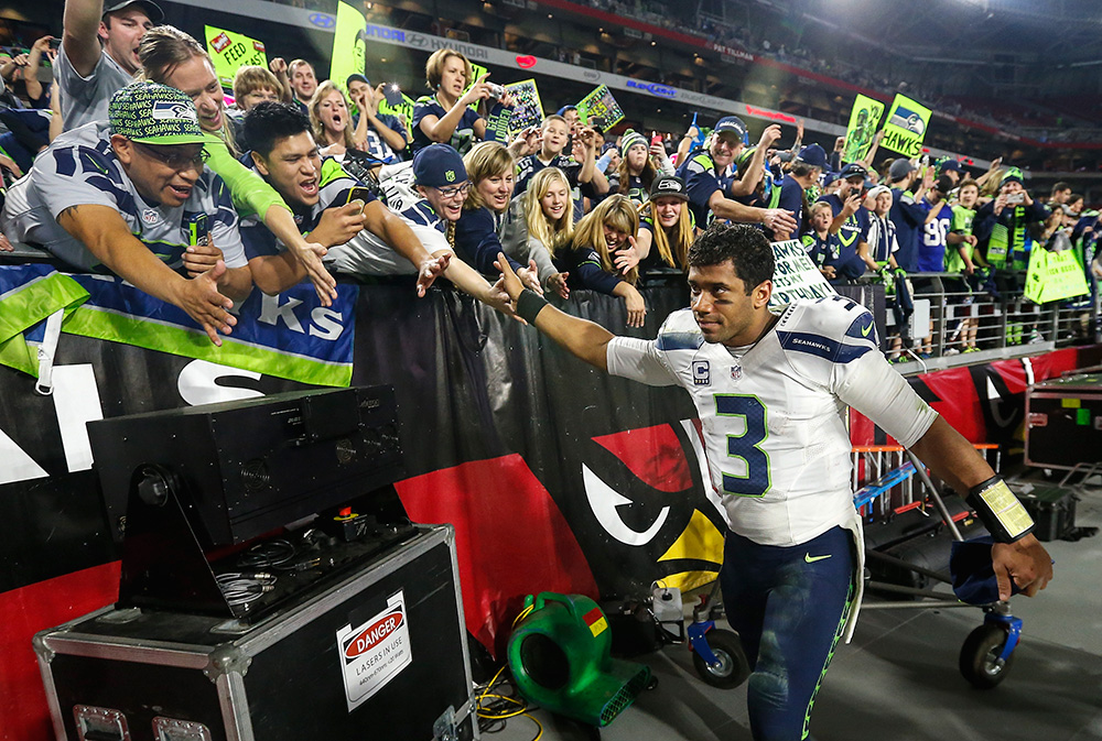 Classic photos of Russell Wilson