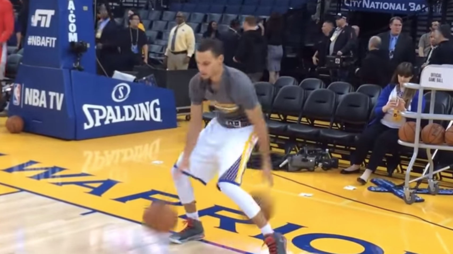 Stephen Currys Dribbling Skills Recreated In Animated Video Nba