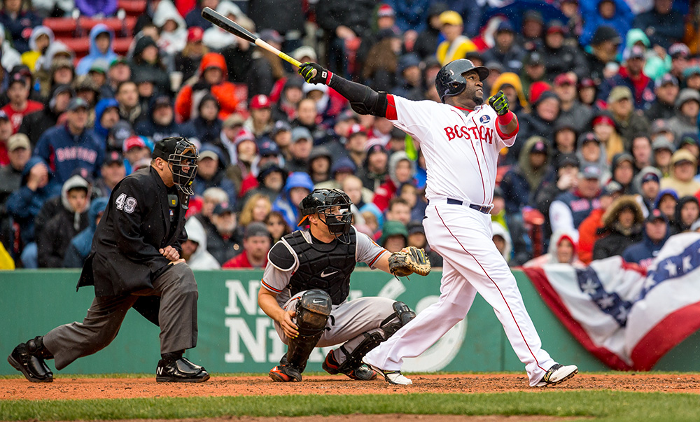 Classic photos of David Ortiz