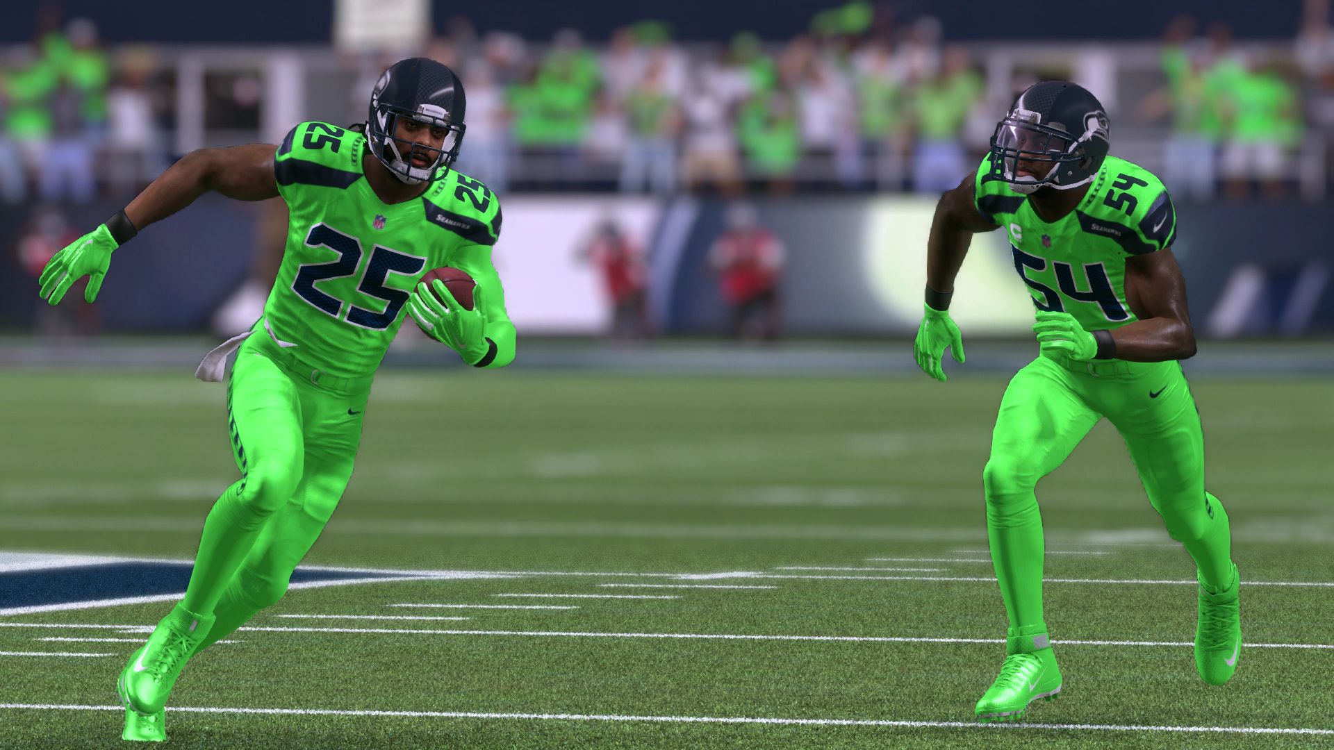 seahawks color rush jersey
