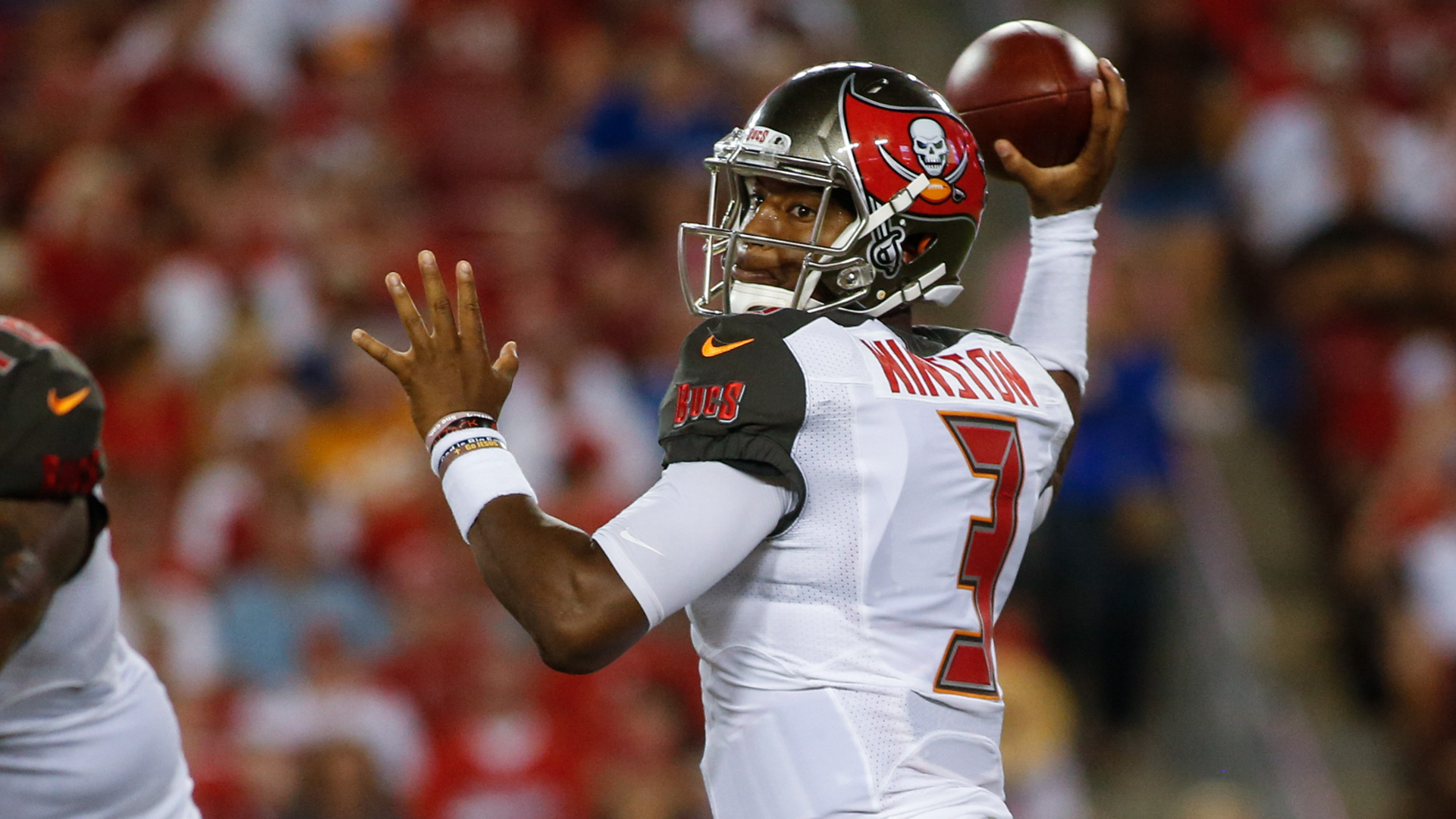 Jameis Winston just getting warmed up for special second ...