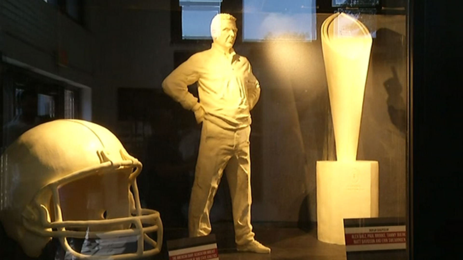 Butter believe it, Urban Meyer sculpture to display at state fair