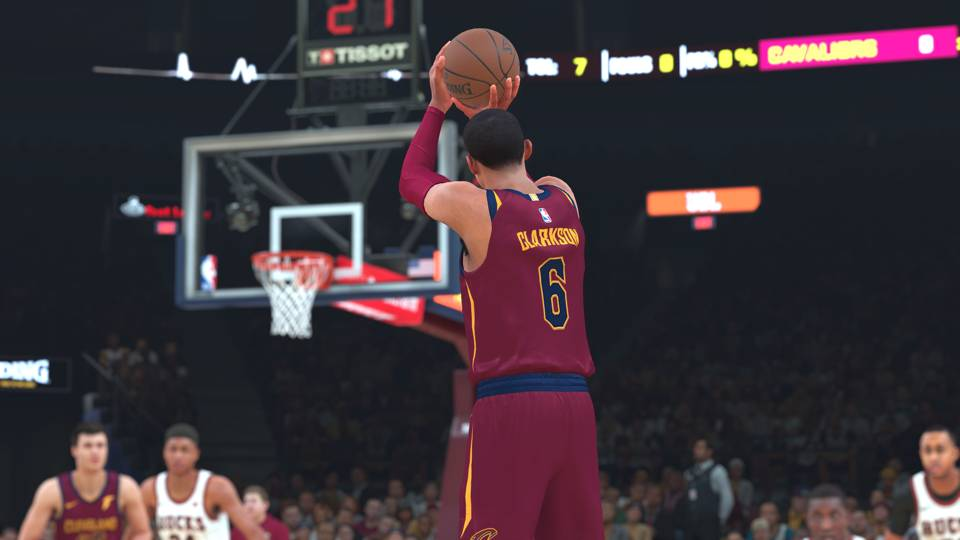 did cavs really improve at trade deadline nba 2k18 weighs in