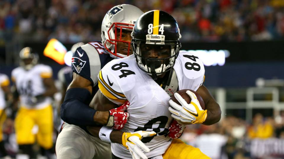 Antonio Brown, Steelers vs. Patriots, Steelers Patriots AFC Championship Game, steelers attitude towards patriots