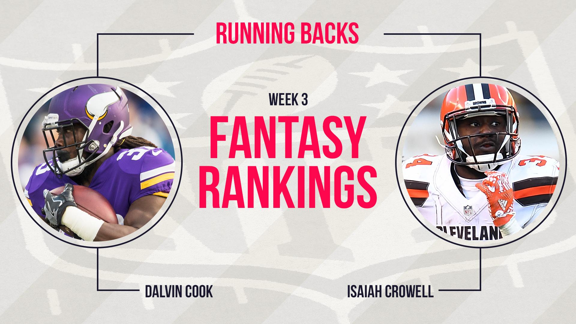 Week 3 Fantasy Football Rankings: Running back | Fantasy | Sporting News