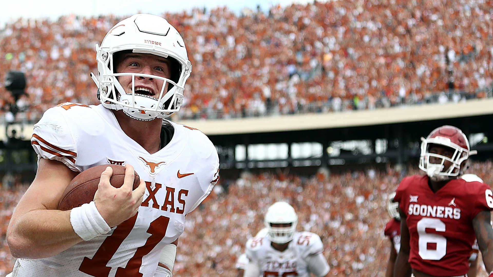 How Texas' win over Oklahoma impacts Big 12, College Football Playoff race
