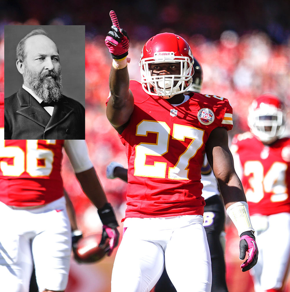 The NFL's best presidential names of all time