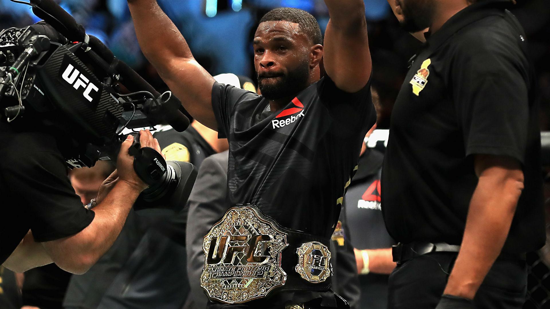 UFC 228: Tyron Woodley vs. Darren Till welterweight title fight to headline Dallas card
