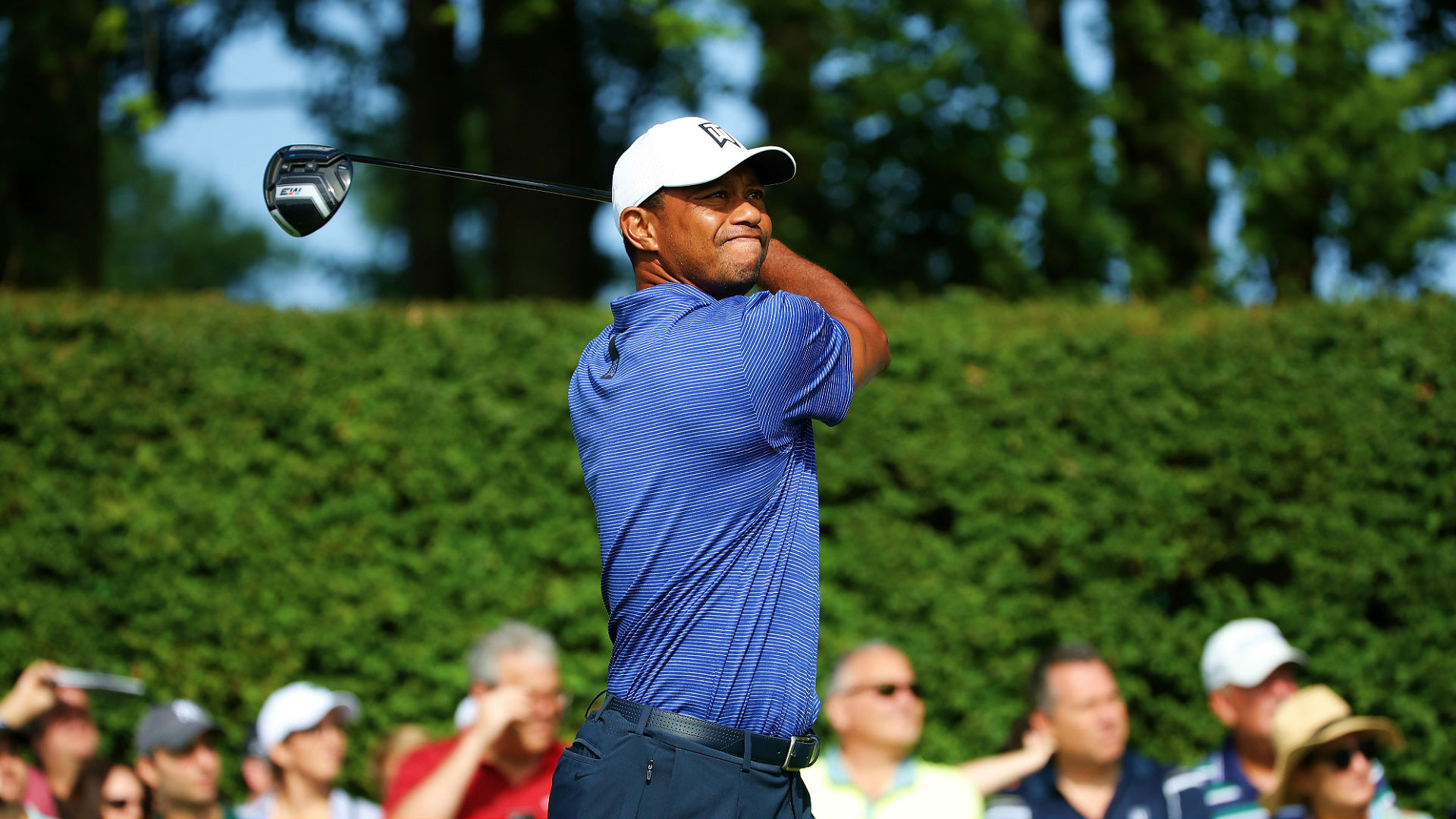tiger woods u0026 39  score  highlights from round 1 of the