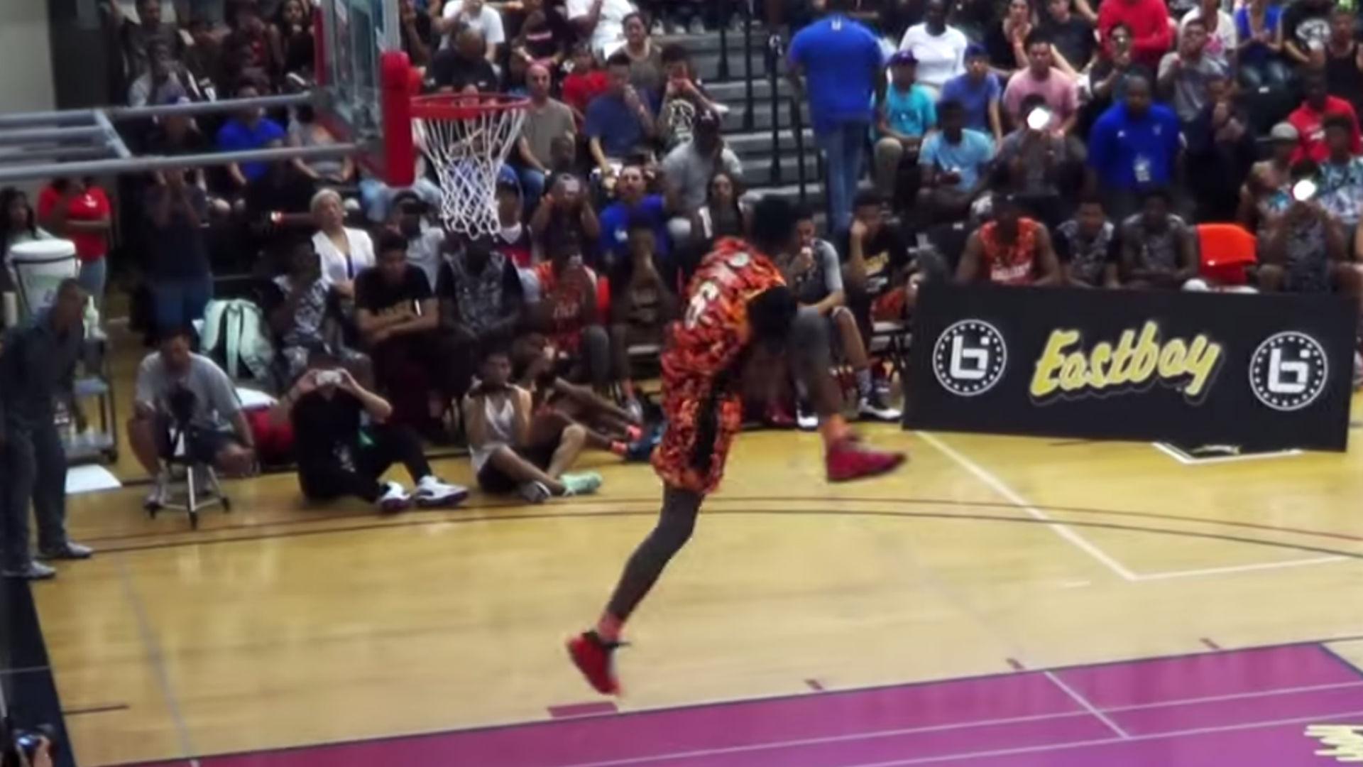 UNLV commit Derrick Jones destroys BallIsLife dunk contest