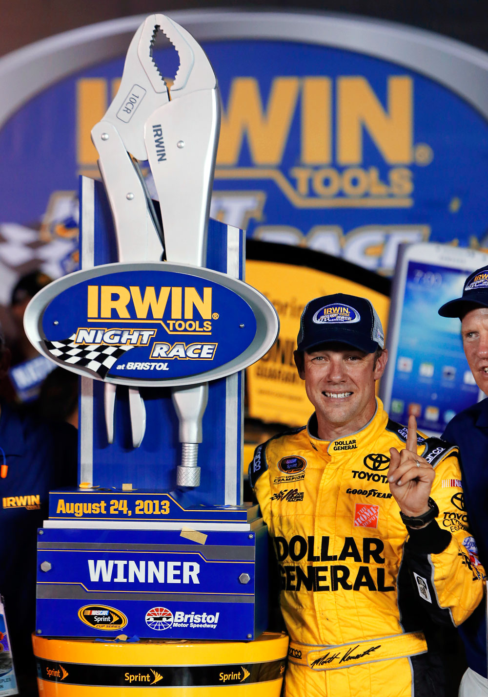 These crazy NASCAR trophies will blow your mind