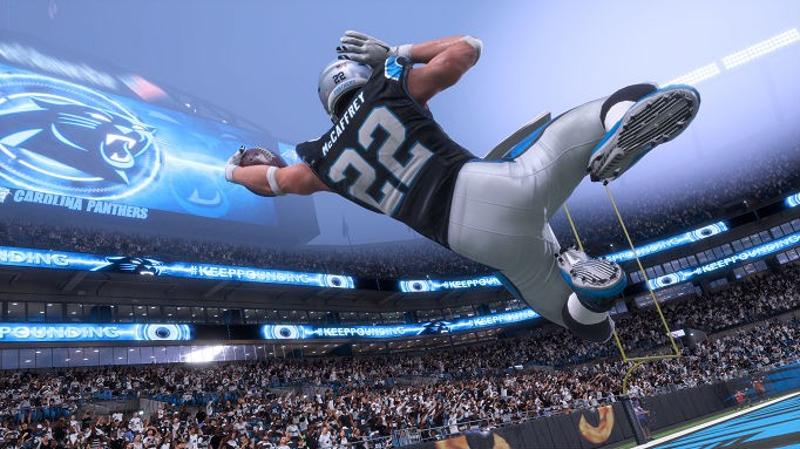 Madden NFL 18 Christian McCaffrey