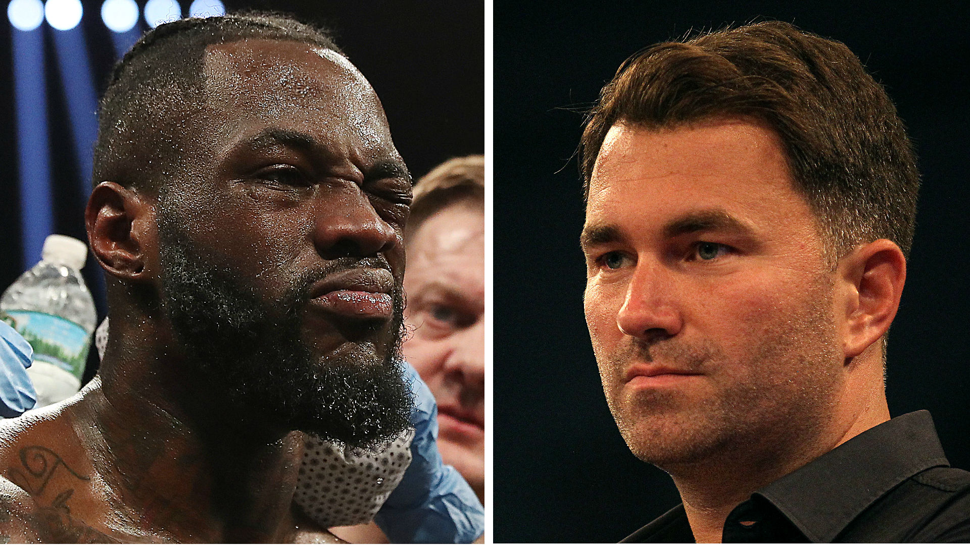 Eddie Hearn: New talks could lead to two fights between Anthony Joshua, Deontay Wilder