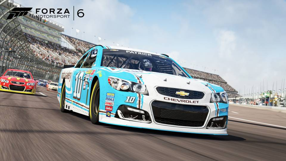 Forza 6 NASCAR Danica Patrick