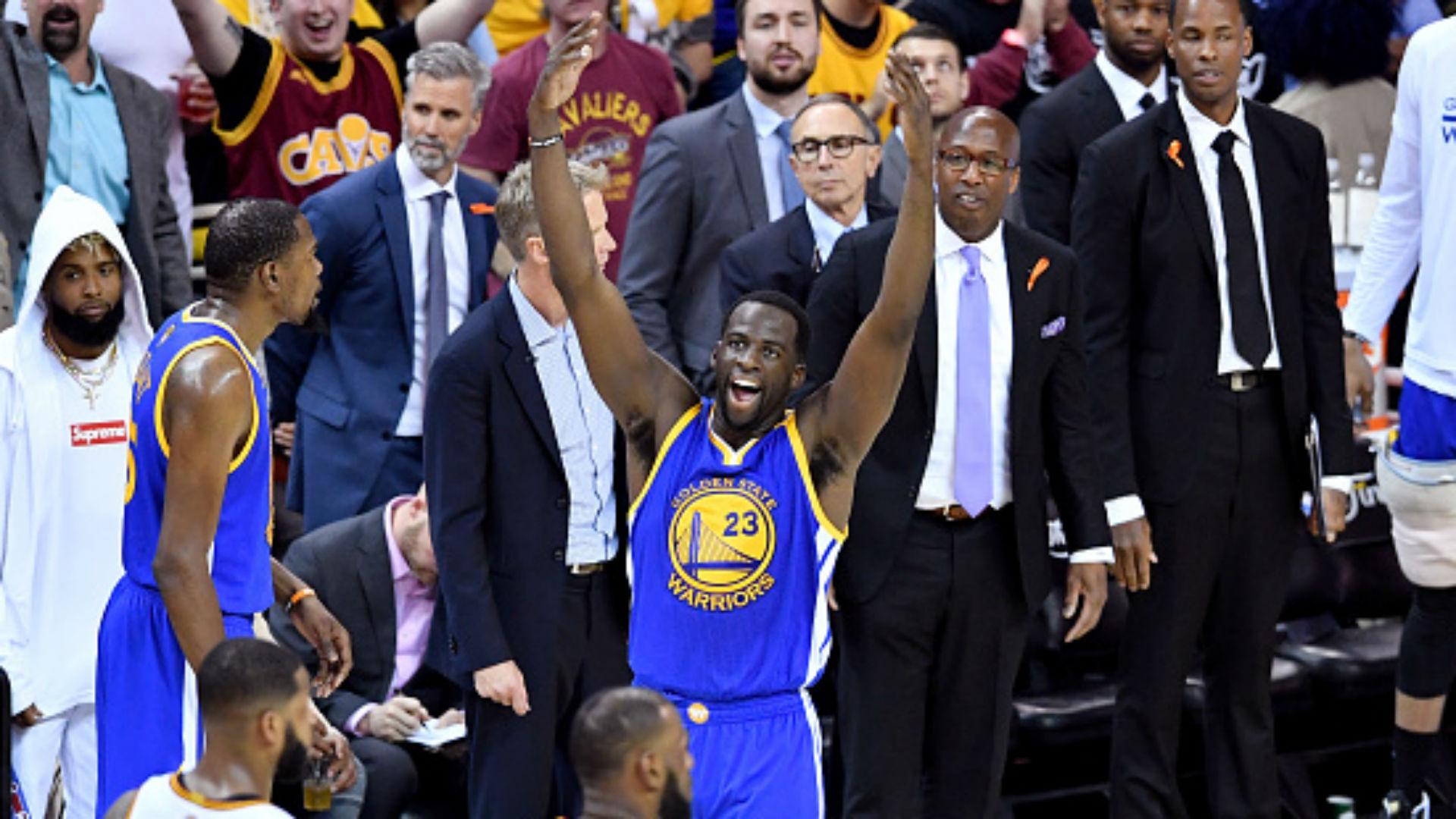 Warriors' Kevin Durant earns 2017 Finals MVP award