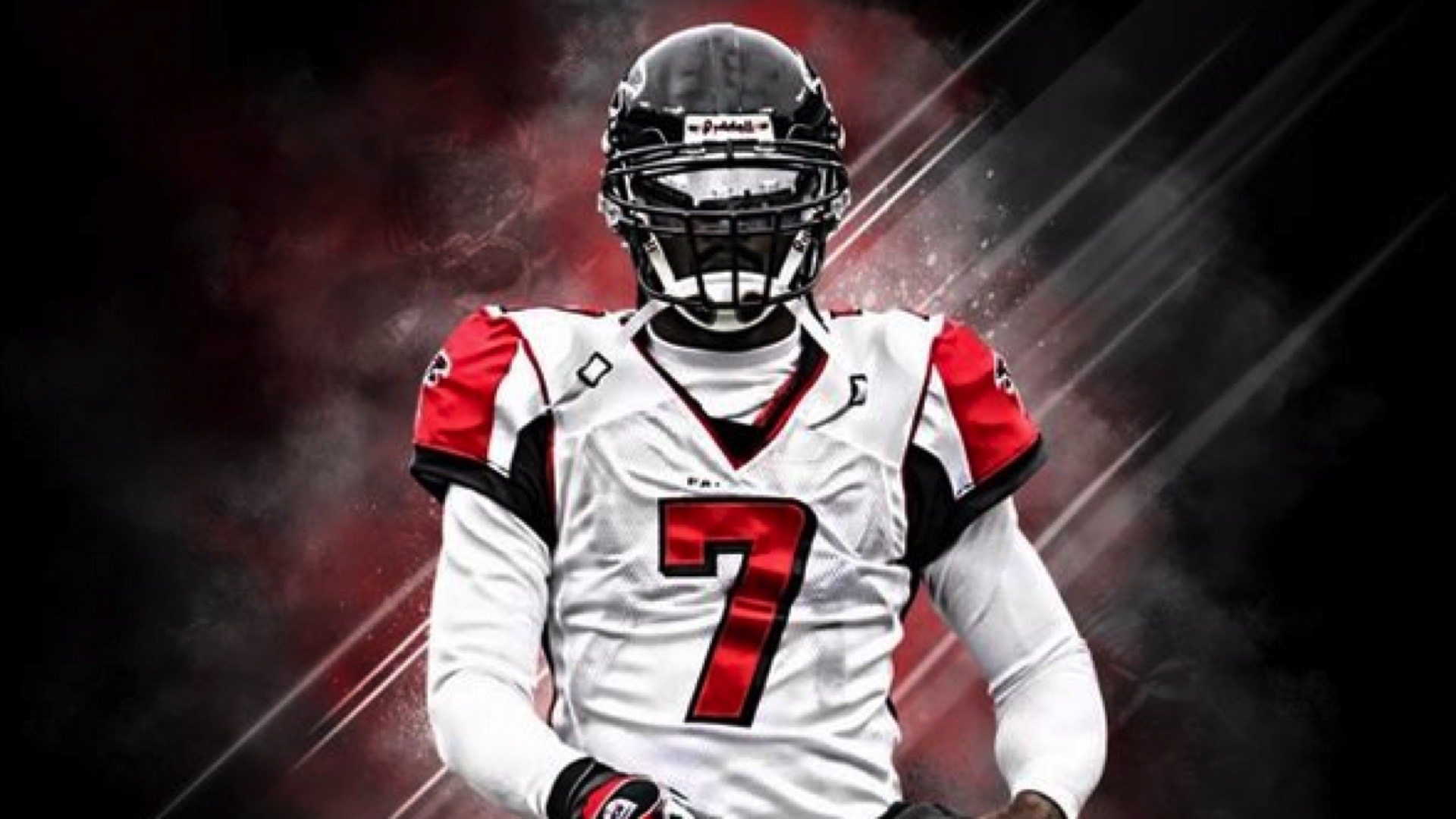67f215c7e72 ... sale michael vick changes twitter profile photo to him in falcons  jersey nfl sporting news b619b