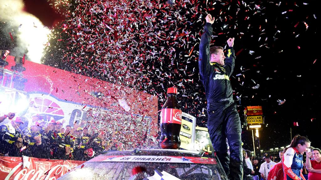 Chase for the Sprint Cup standings going into Kentucky