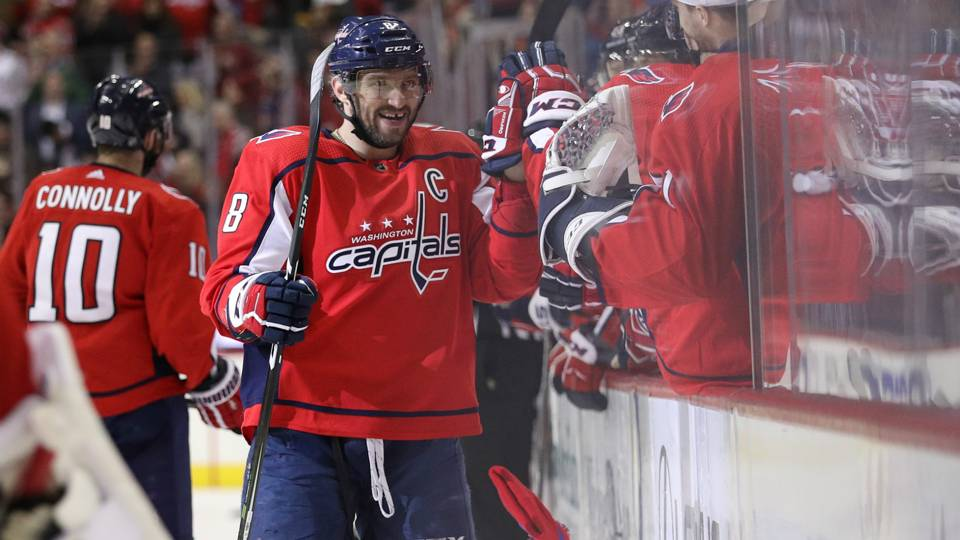 Alexander Ovechkin notches hat trick 65dc7fe1337