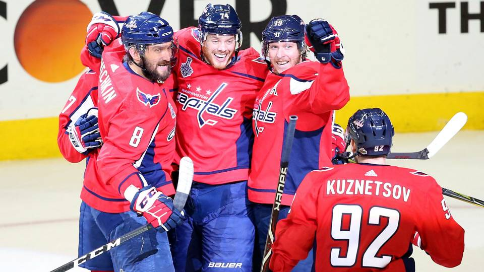 Stanley Cup Final 2018  Kuznetsov records four assists as Capitals take 3-1  series lead over Golden Knights 22f3e76e187