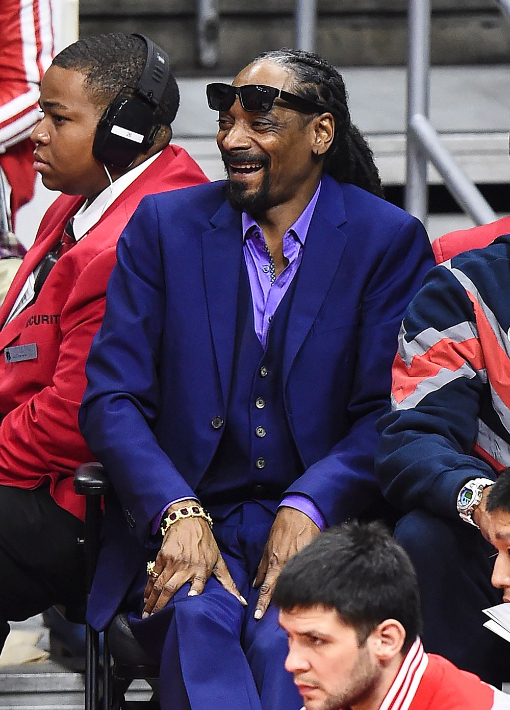 Celebrities at the NBA Playoffs