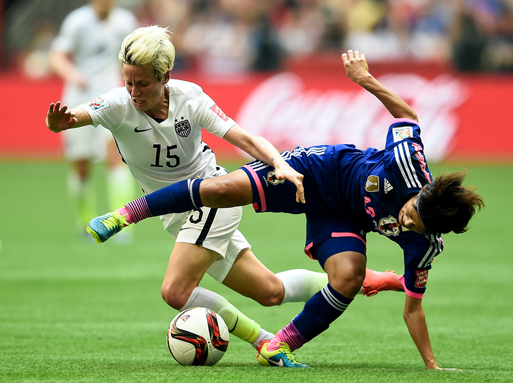 Women's World Cup, USA vs. Japan: Defending champs take on Olympic gold-holders in epic rubber match