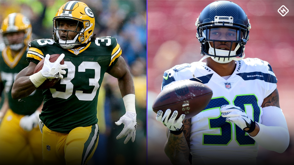 Week 3 Fantasy Busts Aaron Jones Chris Carson Among Risky Starts