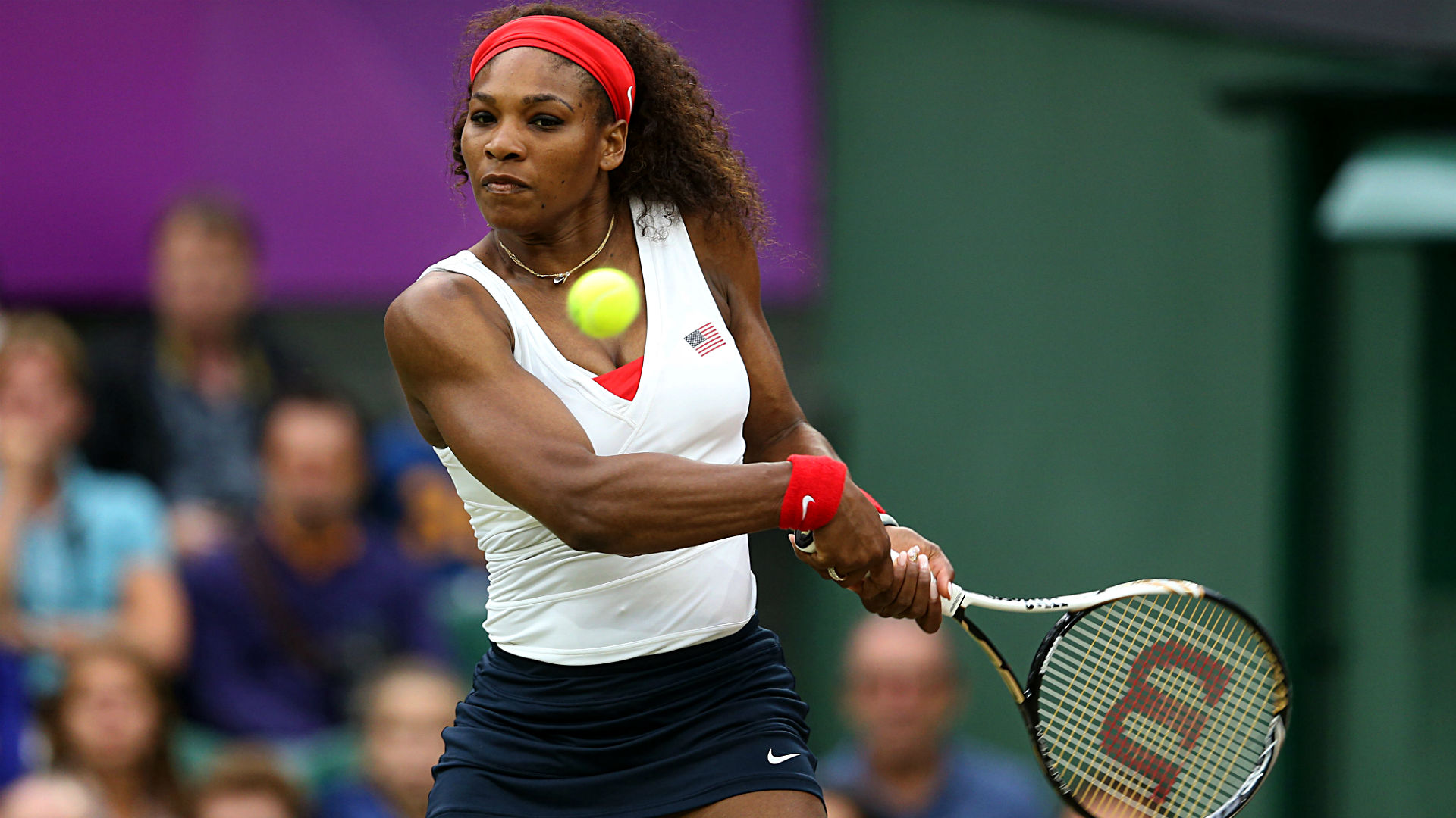 Serena Williams makes quick work of first round opponent